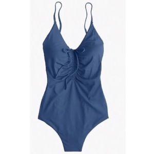 J. Crew Playa Laguna One piece swimsuit